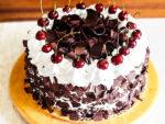 Торт Пьяная вишня: пошаговый рецепт с фото