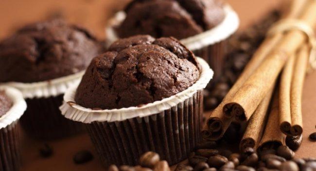 маффины шоколадные рецепт с фото