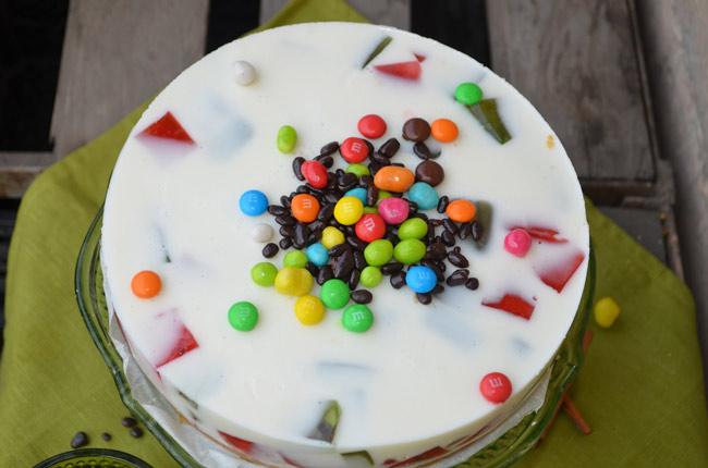 """Торт """"Битое стекло"""" рецепт с фото"""
