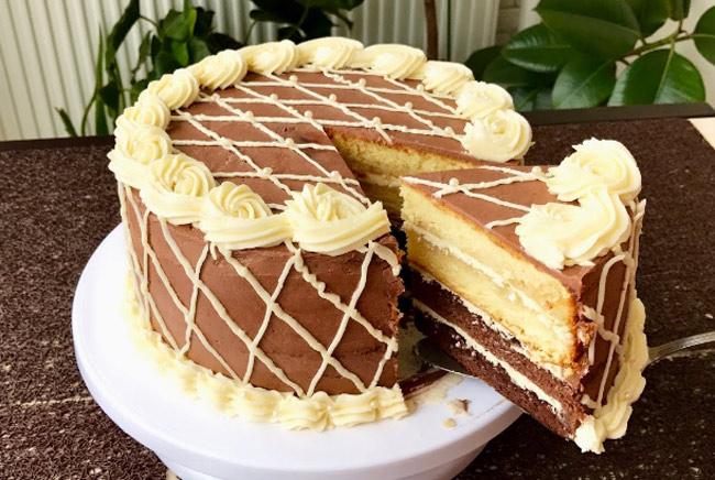 """Торт """"Золотой ключик"""" рецепт с фото, пошагово в домашних условиях"""
