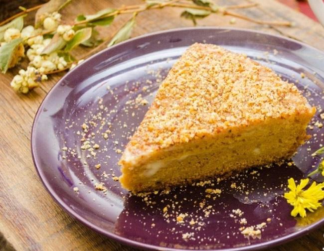 Торт на кефире: рецепт простой с фото