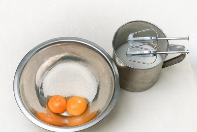 Рулет бисквитный: простой рецепт