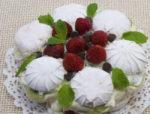 Торт из зефира с фруктами без выпечки, рецепт с фото пошагово