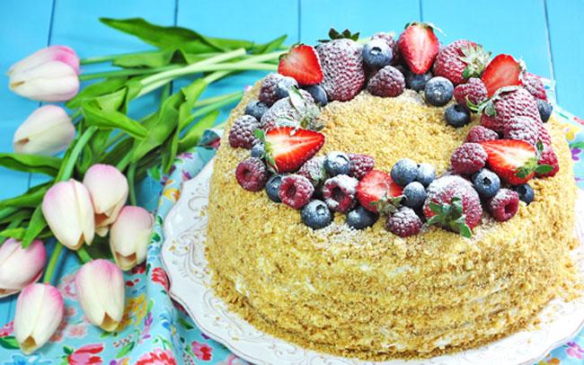 Фруктовый торт – 9 рецептов как вкусно приготовить дома