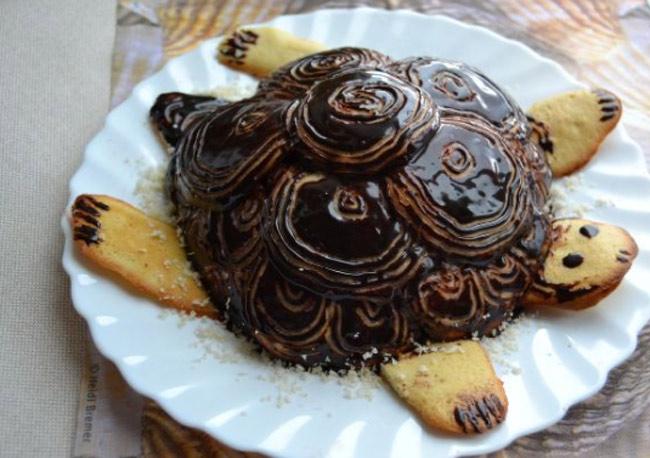"""Торт """"Черепаха"""" пошаговый рецепт с фото, со сметаной"""