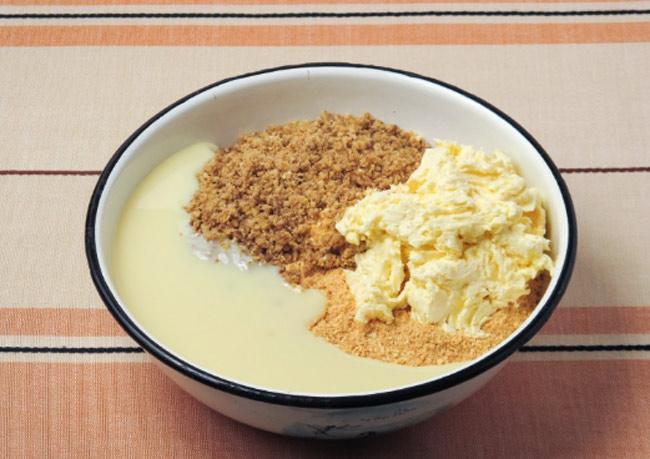 Пирожное Картошка рецепт из печенья и сгущенки