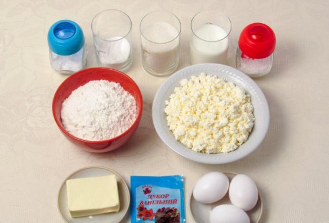 Пирог с творогом: рецепт с фото пошагово, в духовке