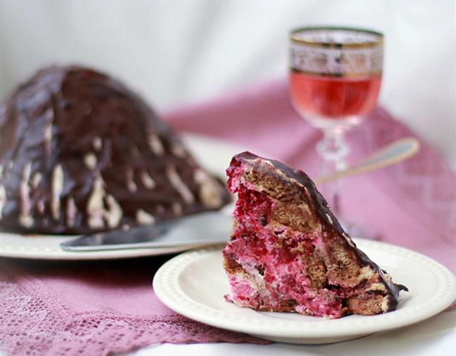 Торт из пряников со сметаной - рецепт