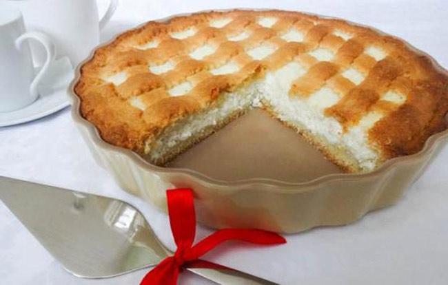 Песочный пирог с творогом: рецепт с фото, пошагово