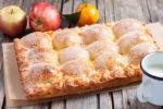 Пирог с творогом и яблоками, рецепт с фото пошаговый