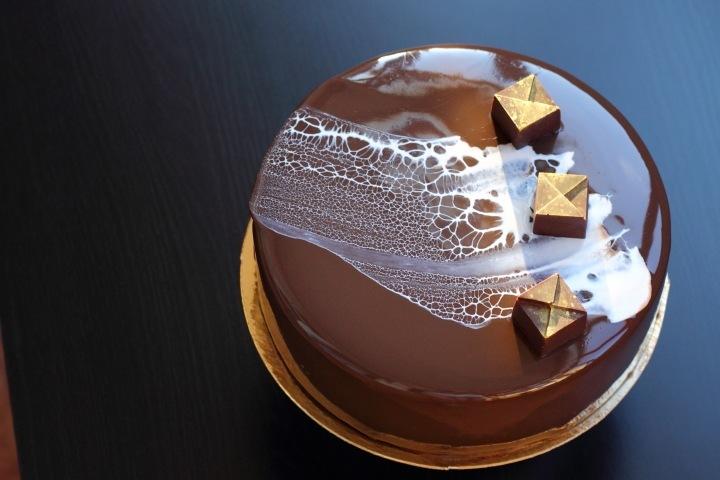 Бисквитный торт с какао