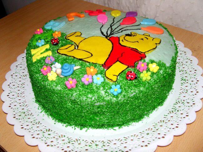 Как украсить торт мастикой?