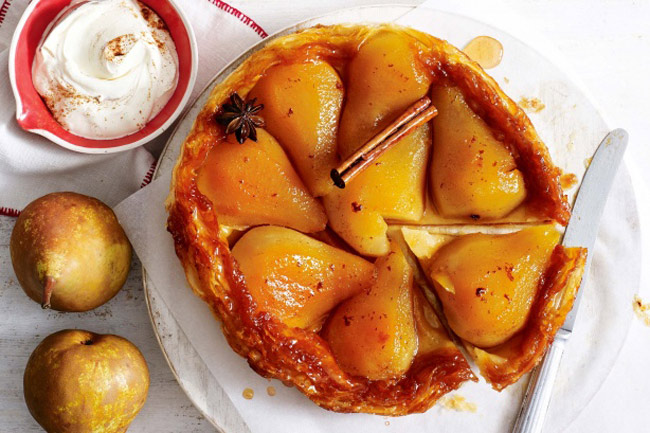 Пирог с грушей рецепты с фото, самый простой в приготовлении