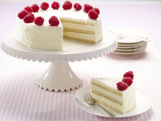 Кокосовый крем для торта