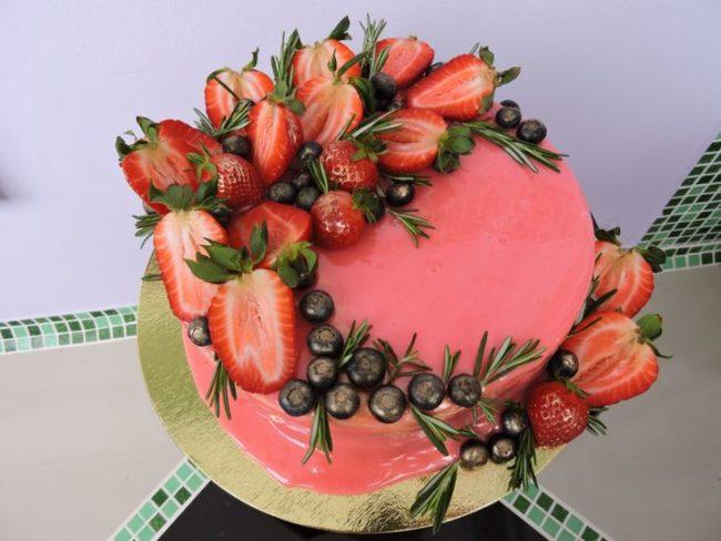 Торт из фруктов своими руками пошагово 474