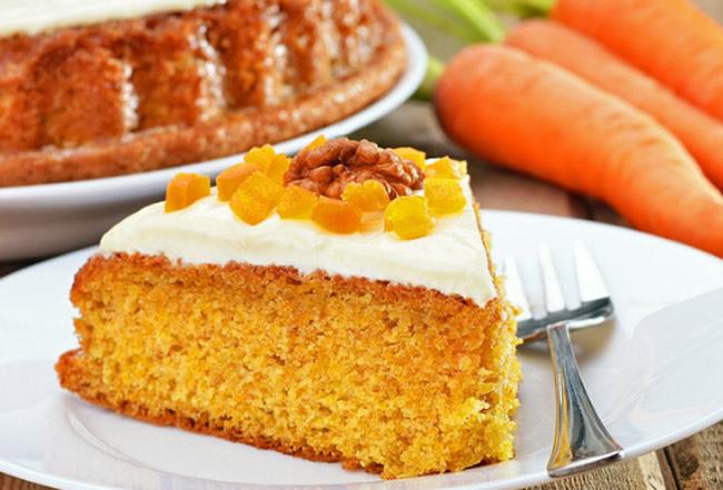 Морковный кекс: рецепт