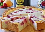 Заливной пирог с ягодами: пошаговый рецепт с фото