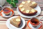 Банановый пирог в мультиварке, рецепт с фото