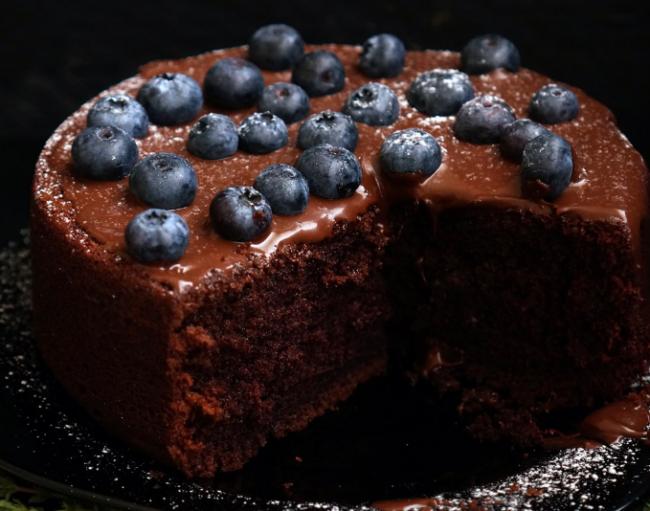 Шоколадный торт на раз два три: Энди Шеф