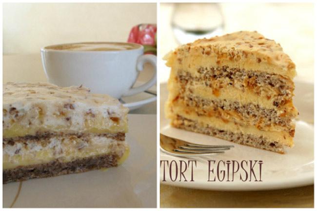 Торт Египетский: пошаговый рецепт