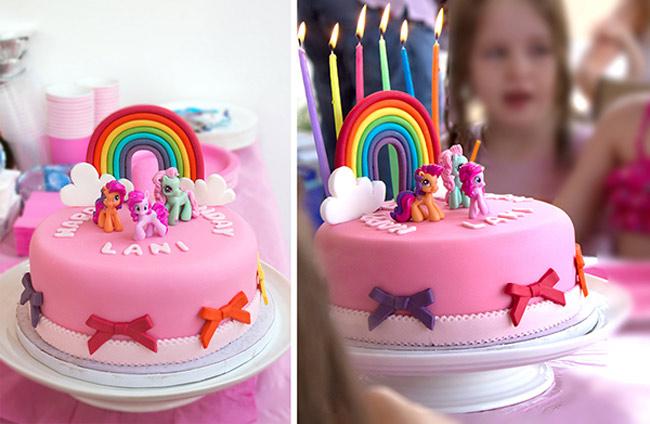 Тортик на день рождения девочек