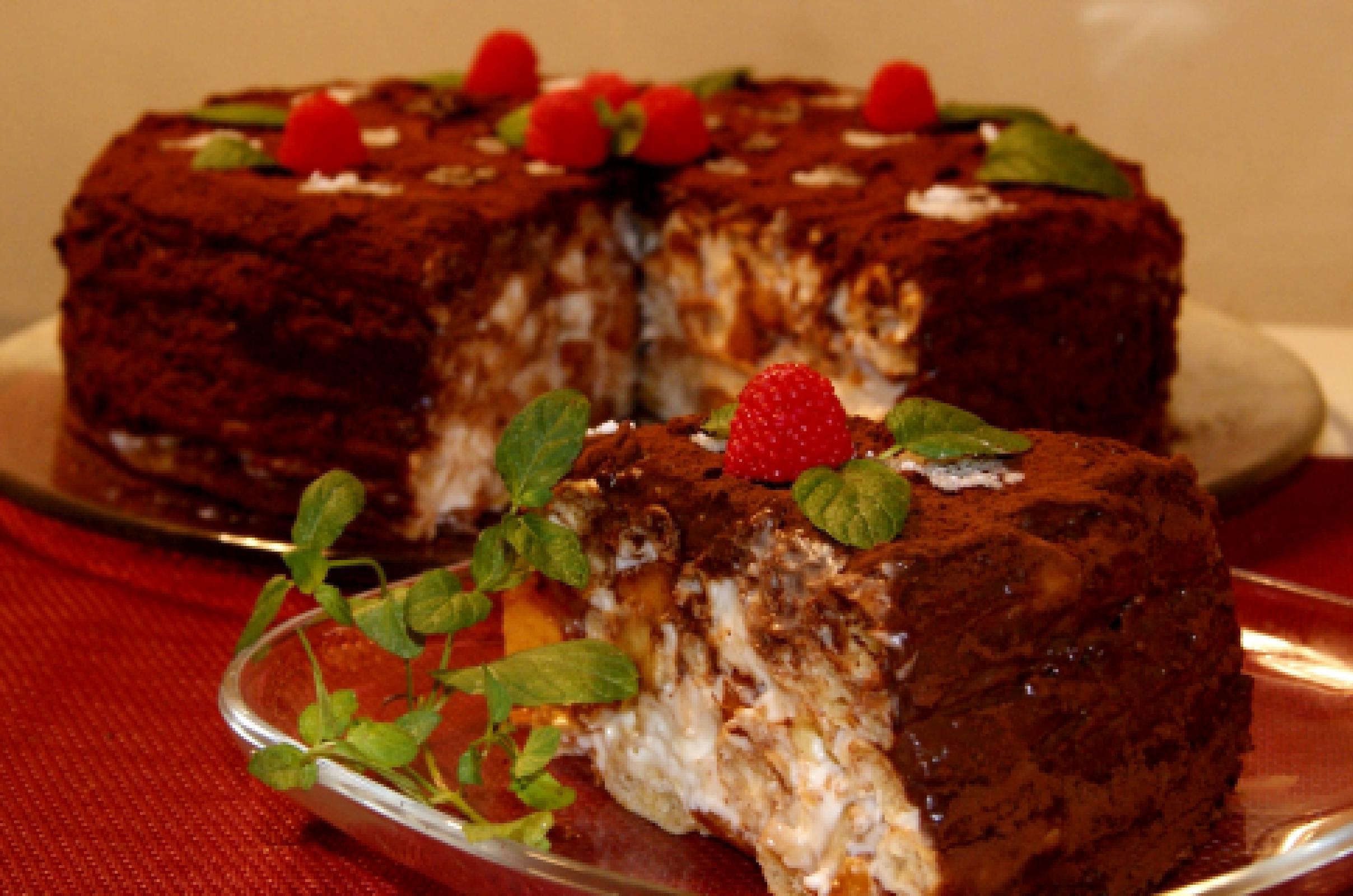 Торт из заварного теста рецепт пошагово