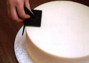 подготовка торта