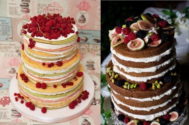 Как украсить торт фруктами в домашних условиях: фото, пошагово