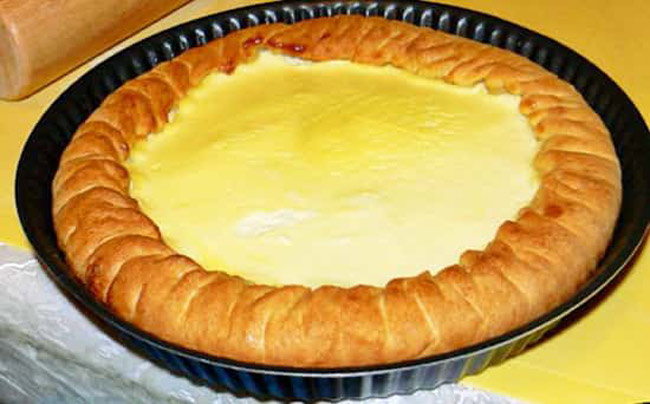Пирог сметанник пошаговый рецепт с фото татарский
