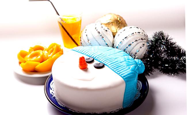 новогодний торт