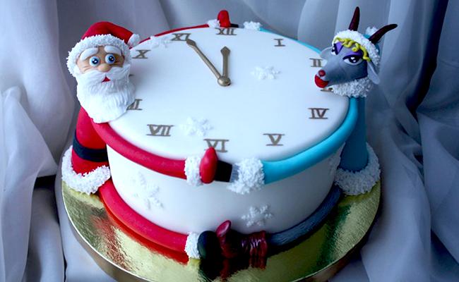 торт на новый год своими руками