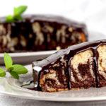 Классический рецепт кекса «Зебра»