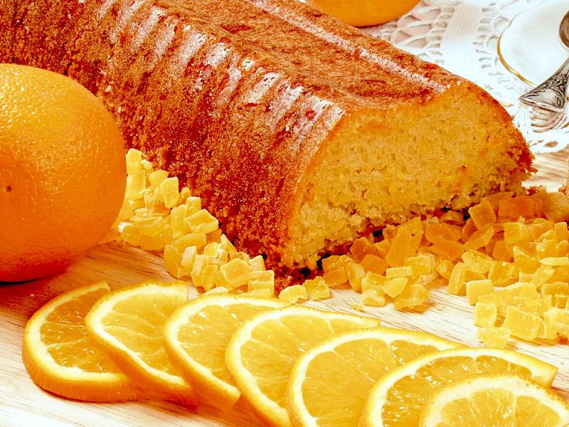 рецепт кекс апельсиновый