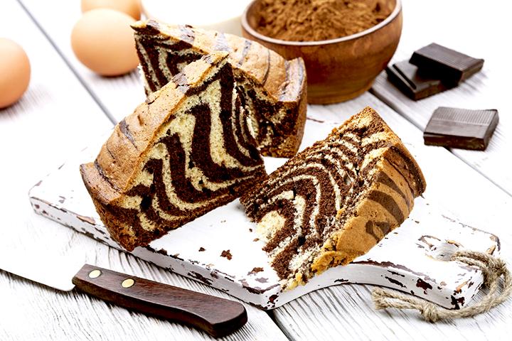зебра рецепт торта