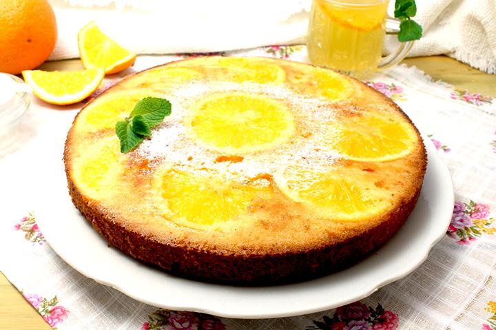 кекс апельсиновый рецепт