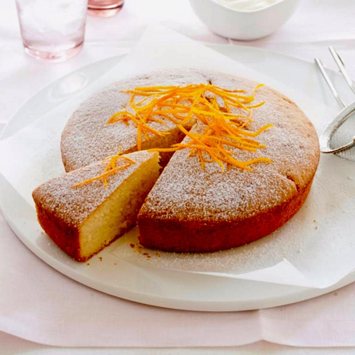 кекс с цедрой апельсина