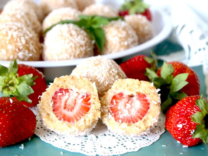 творожные конфеты рафаэлло