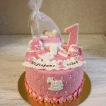 Лучший торт на первый годик для девочки