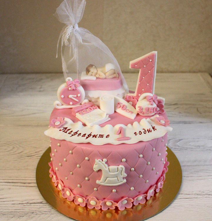 Рецепт торта на годик девочке своими руками 95