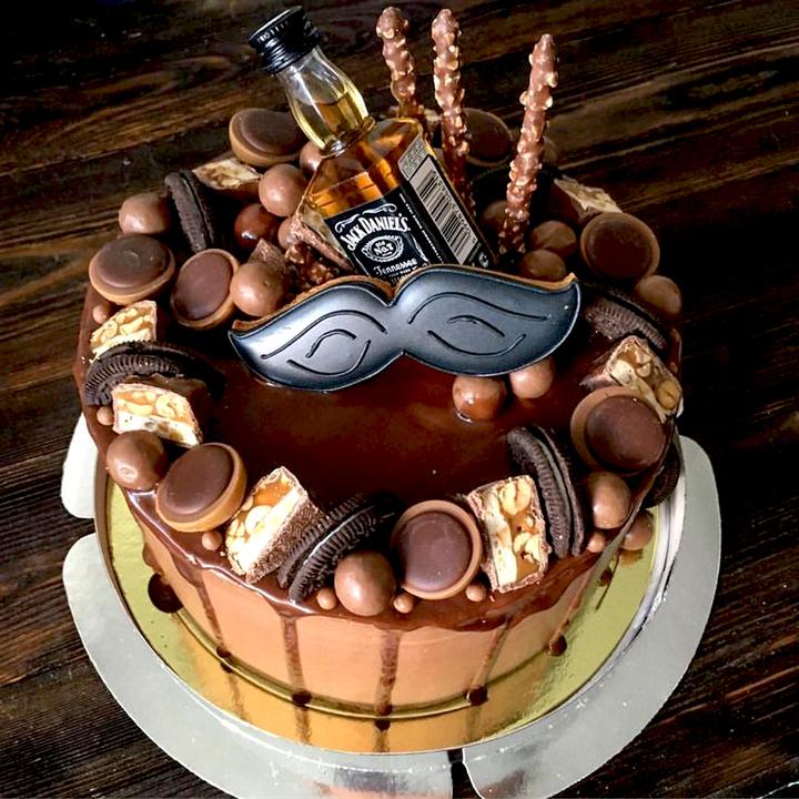 торт для мужчины на день рождение
