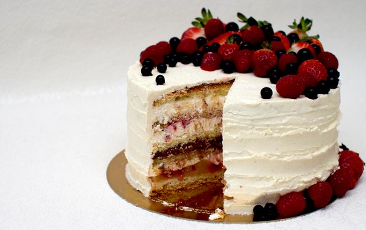 торт маскарпоне