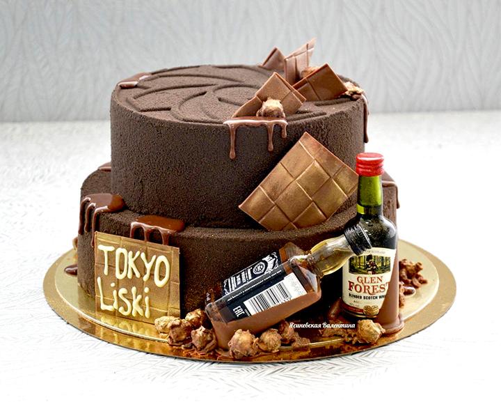 торт на день рождение мужчине