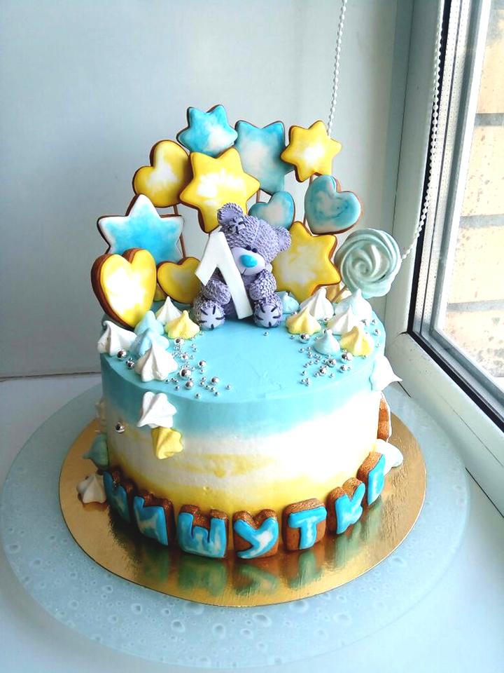 торт на день рождение для мальчика