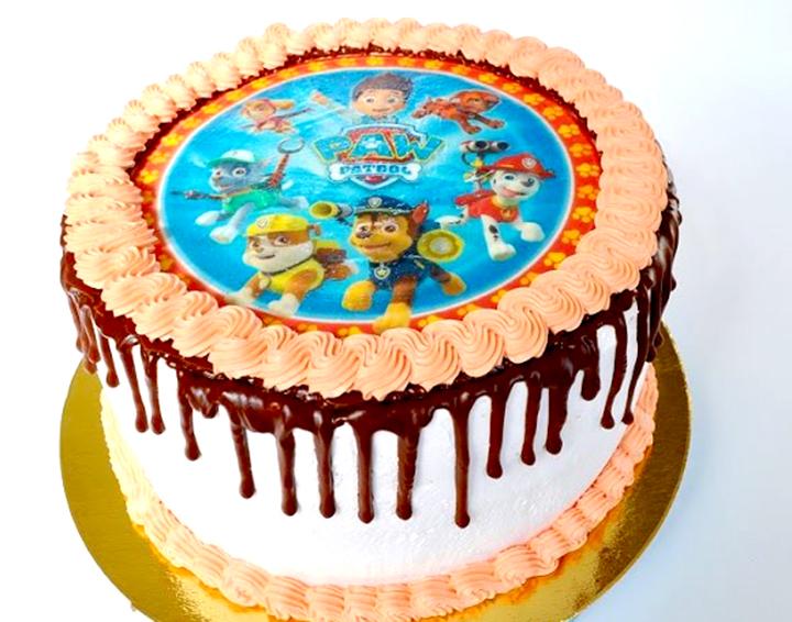 торт фотопечать на торты