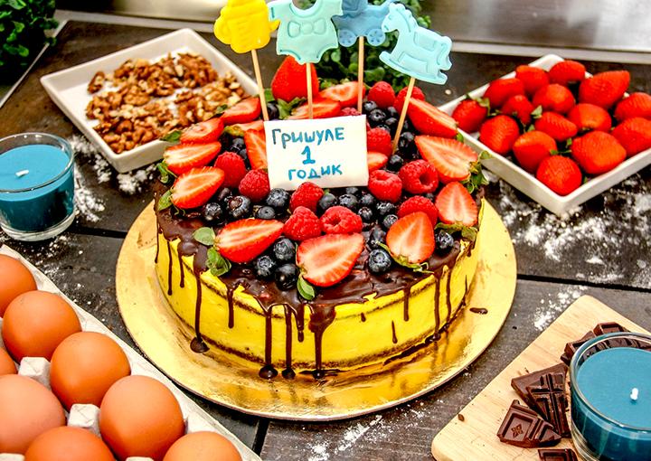 торт фруктовый рецепт