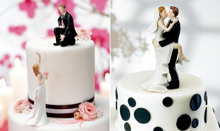 фигурки свадебные на торт
