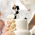 Фигурки на свадебный торт: 6 идей с фото
