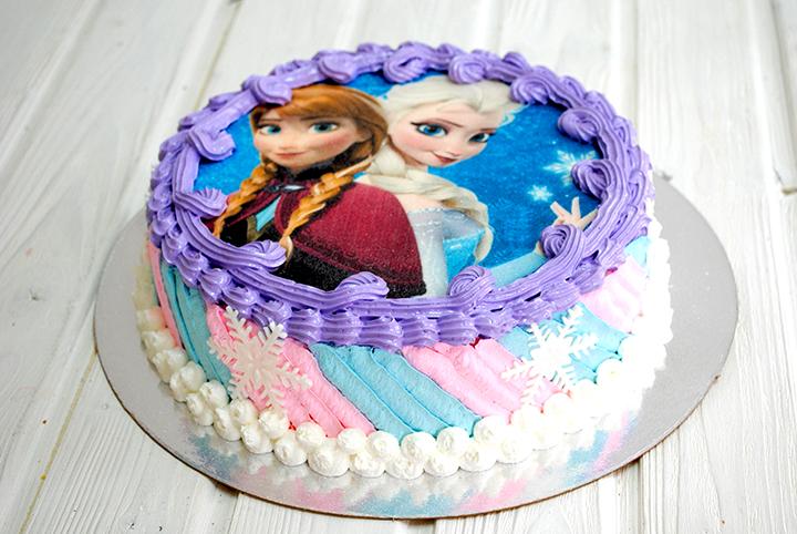 как делают торт с фотографией его включении