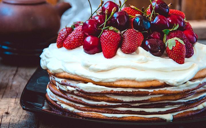 крем пломбирный для торта на сметане