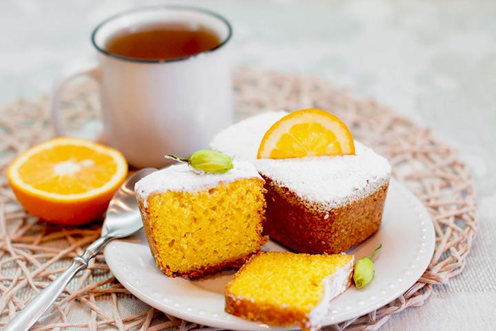 лимонный домашний кекс